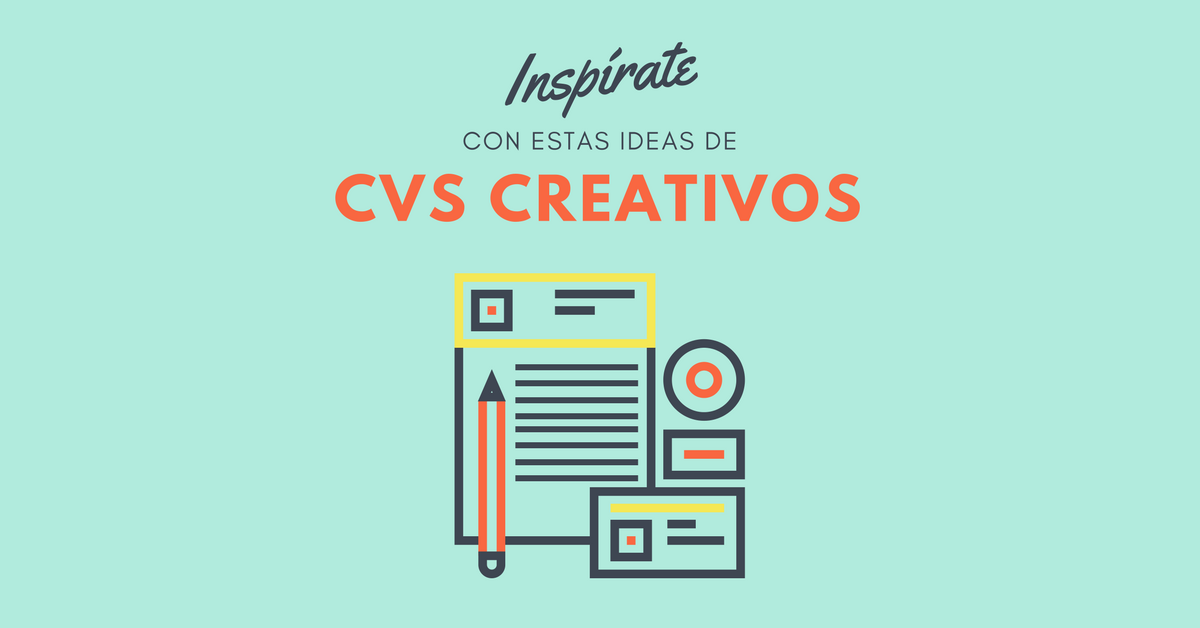 30 Ejemplos De Curriculums Vitae Creativos Con Plantillas Gratis
